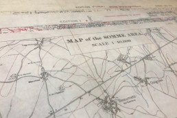 World War 1 Trench Warfare Maps - The Somme